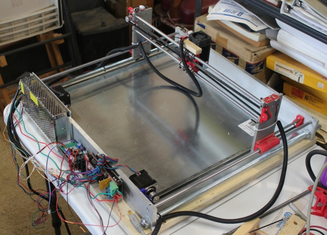 CNC Laser Cutter / Engraver Build | Jim Hannon's Blog