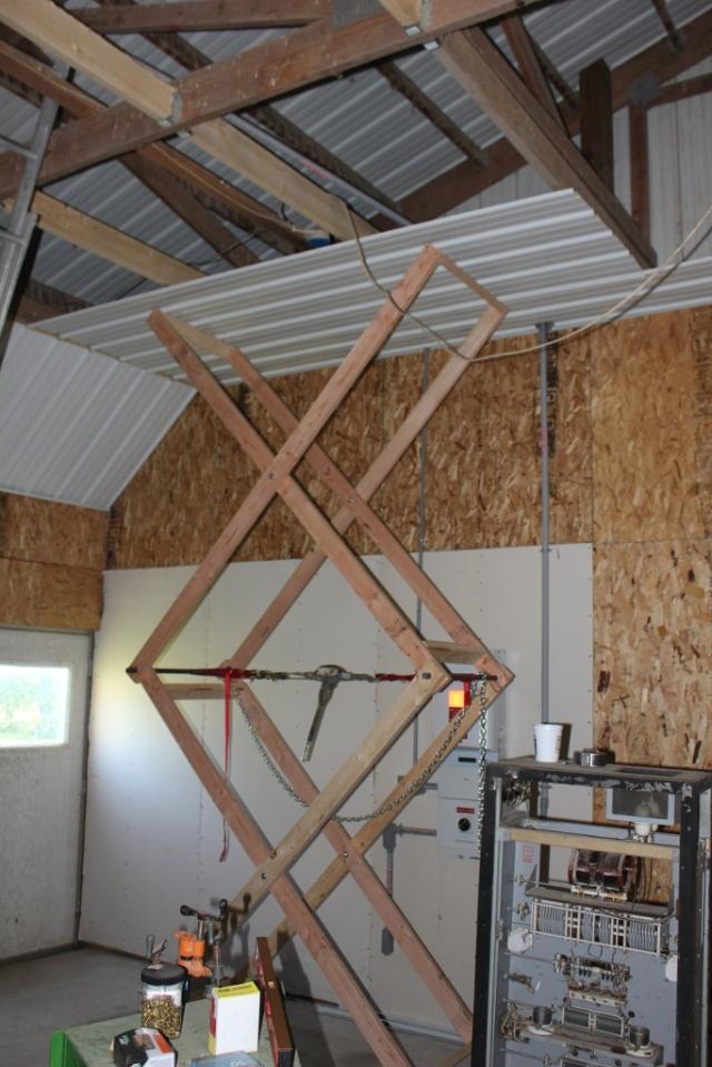 Simple Scissor Lift | Jim Hannon's Blog